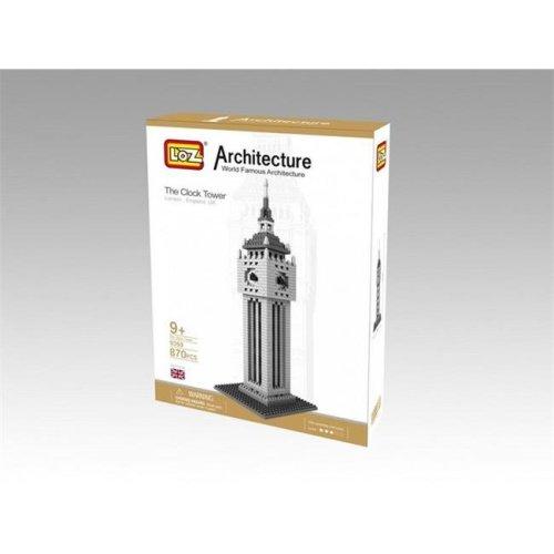 CIS 9369 British Clock Tower Model - Micro Building Blocks Set