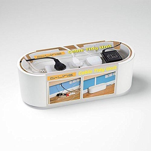D-Line EU/CTUSMLW/SW Cable Management Extension Box - White