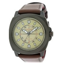 Citizen Eco-Drive CTO DRIVE Leather Mens Watch BJ6477-04X