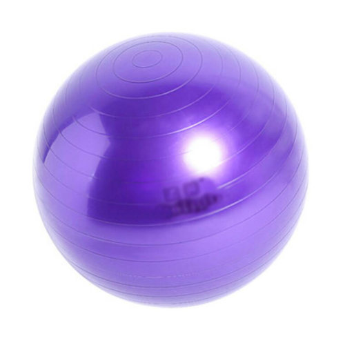Yoga Ball Exercise Ball Casual Chair Keep Fit For People -Purple