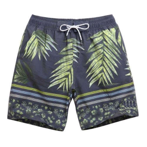 Beach Shorts Men's Quick-drying Pants Holiday Loose Swim Shorts,L Size,#06