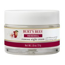 Burts Bees Renewal Night Cream, 1.8 Ounces