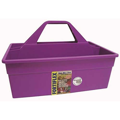 FORTEX INDUSTRIES 380613 Tote Max Purple, 17X11X11