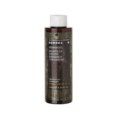 KORRES for Him Mountain Pepper, Bergamot and Coriander Showergel 250 ml