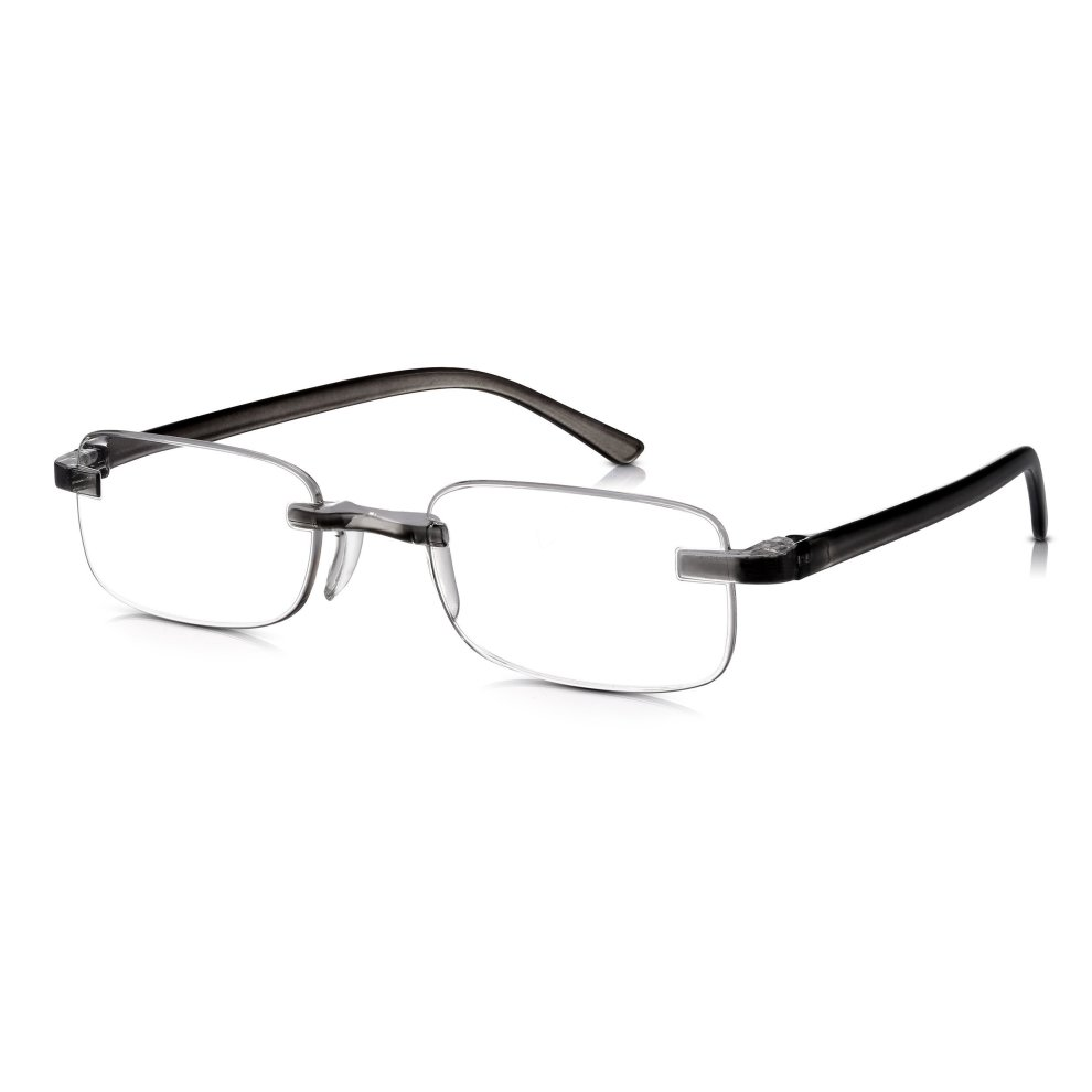 1cca71bd62a Read Optics Rimless Reading Glasses 2.50 with New Patented Lens Fixings to  Prevent Breakage  Mens Womens Lightweight