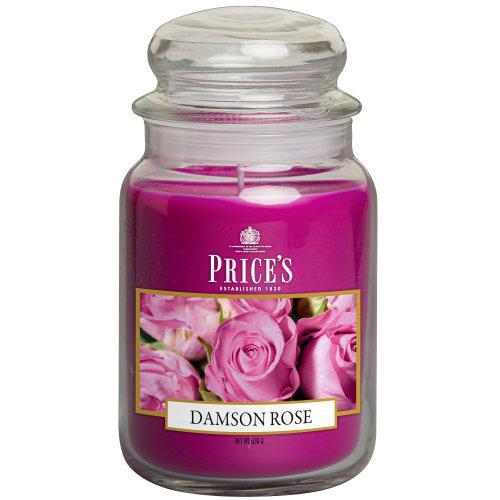Large Jar Damson Rose