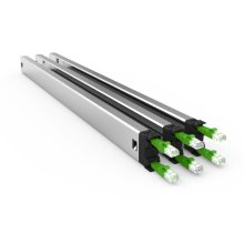 PATCHBOX Plus+ STP Long Range Rack Cable tray Black, Green, Silver 3pc(s)