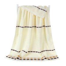 100% Cotton Soft Large Beach Towels 140*70cm, Beige