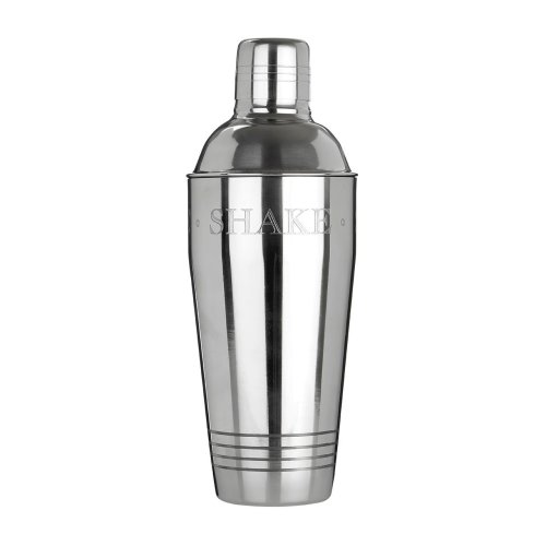 Bombay Cocktail Shaker, Stainless Steel - Silver