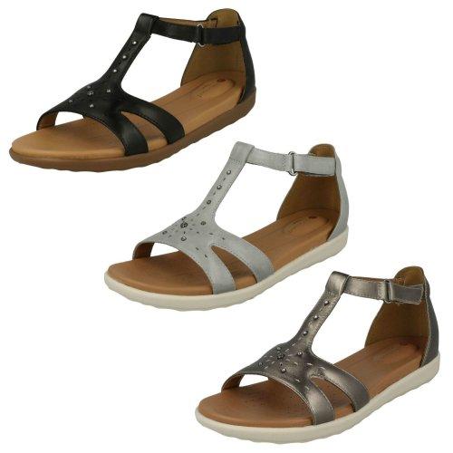 Ladies Clarks Strappy Sandal Un Reisel Mara - D Fit