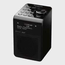 Panasonic RF-D20BTEB-K Black DAB+/FM/RDS Splash Proof Radio