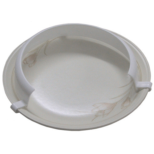 Plate Surround for One Handed Eating - Clip on Plate Guard