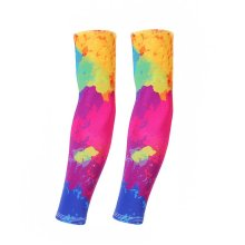 UV Sun Protection Arm Sleeves Breathable Long Sleeves To Cover Arms Ink Painting