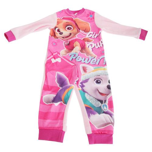 Paw Patrol Childrens Girls Skye Pyjama Bodysuit