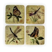 Ceramic Coasters Butterfly