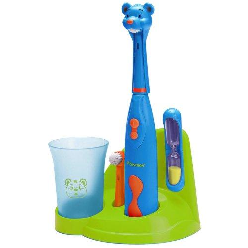 Bestron Children Kid Toothbrush Set Teeth Oral Dental Care Clean Bear DSA3500B