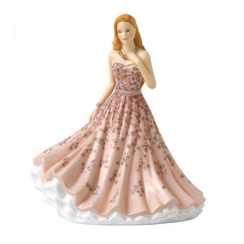 Royal Doulton Lady Sentiments Petite Figure -  Remember Me