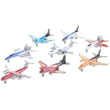 8pc Toy Aeroplanes | Model Toy Plane Set