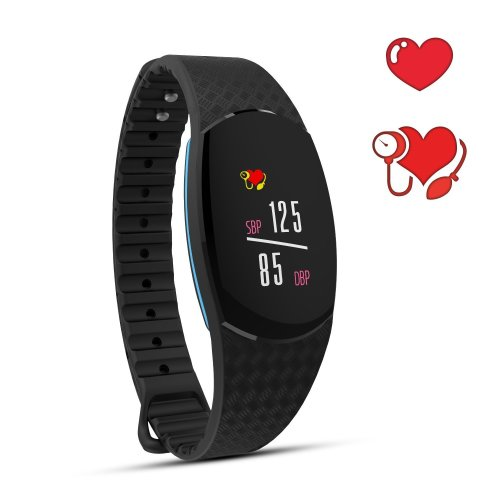 iPosible Fitness Tracker, Activity Tracker Watch with Heart Rate Monitor Blood Pressure Monitor,IP67 Waterproof Smart Bracelet Step Counter Sleep...