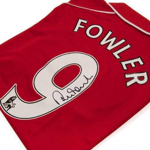 Liverpool F.C. Robbie Fowler 2001 Signed Replica Shirt