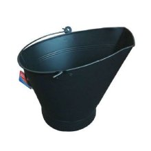 Blackspur Waterloo Design Bucket, Black - Traditional Style Coal