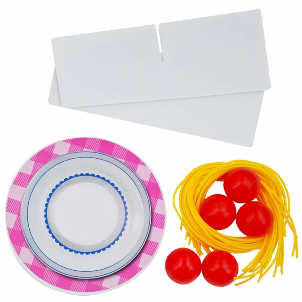 deAO Don't Drop the Meatballs Game for Children Family Board Game