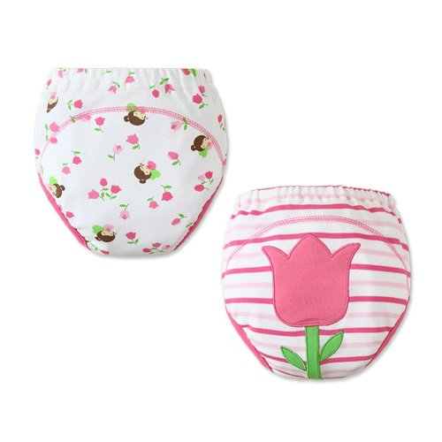 [Tulip] Baby Toilet Training Pants Nappy Underwear Cloth Diaper 15.4-26.4Lbs