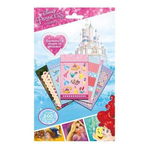 Disney Princess 800 Sticker Set