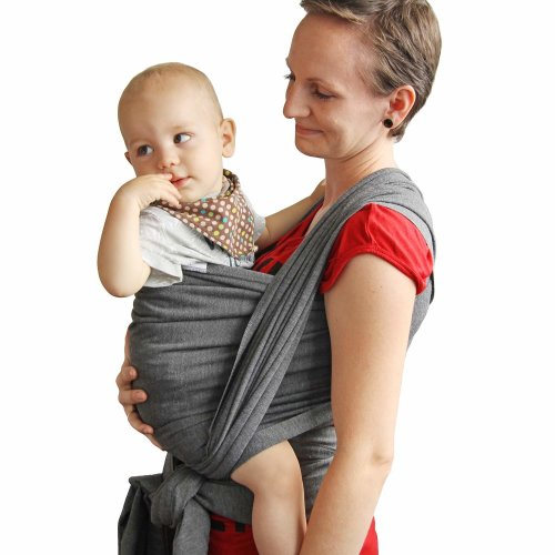 9ff39d6f0f9 TALINU Wrap Carrier Adjustable Breastfeeding Cover Cotton Sling Baby Carrier  for Infants up to 33 lbs 15kg