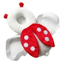 Creative Ladybug Baby's Head Protection Pad Headrest Angel Hat Drop Resistance H