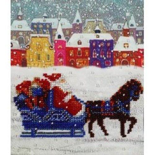 VDV Bead Embroidery Kit - Father Christmas / Santa Claus