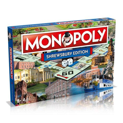 Monopoly Shrewsbury Edition Board Game