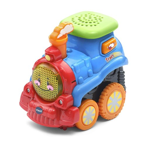 Vtech Toot-Toot Drivers Press 'n' Go Train Toy Plays 3 Songs & 10 Melodies