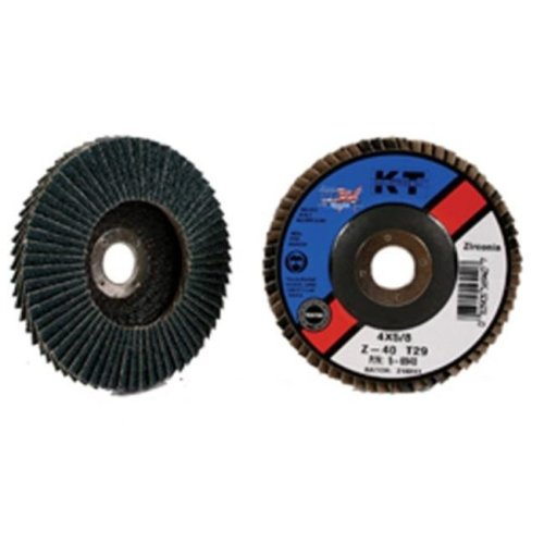 KT Industries 395994452 5-6944 4.5 in. x 60 Grit Flap Disc