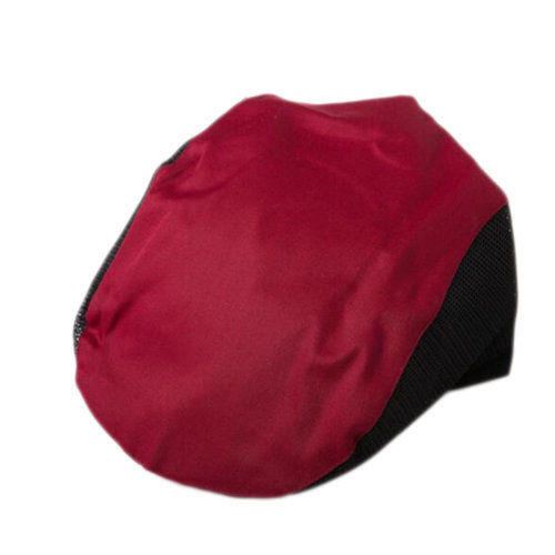 34643bcdb Fashion Cook Hats Hotel Cafe Breathable Mesh Chef Hats-Dark Red