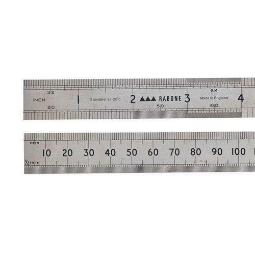 """Stanley 0-35-400 Rabone Precision Steel Rule 150mm 6"""""""