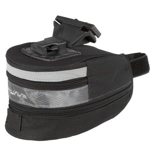 M Wave Tilburg Saddle Bag - Black, Medium