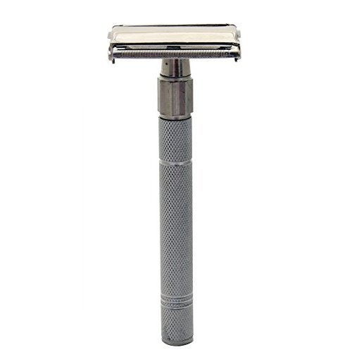 Body Toolz Vintage Safety Shaving Stainless Steel Razor, 2.7 Ounce