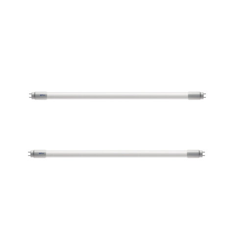 2x LED Tube Fluorescent Light T8 G13 600mm 2FT 6400K Cold Light 9W - Replacement Lamp