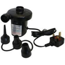 240v/12v Electric Air Pump -  pump electric air camping inflator mains airbed 12v 240v12v plug new pool