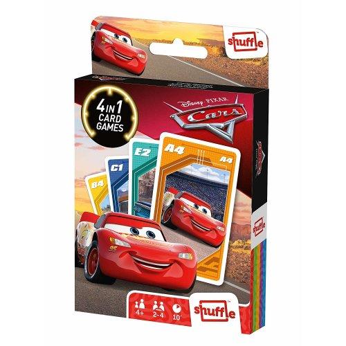 Shuffle Fun 4 in 1 Cars Card Game