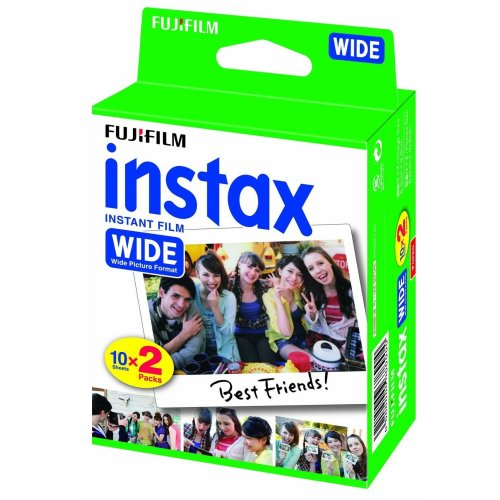 Fujifilm Instax Wide Film 20pc(s) 108 x 86mm instant picture film