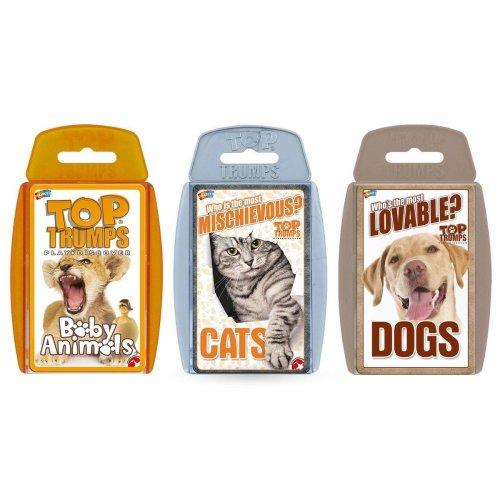 Top Trumps Cute Animals Card Game Bundle