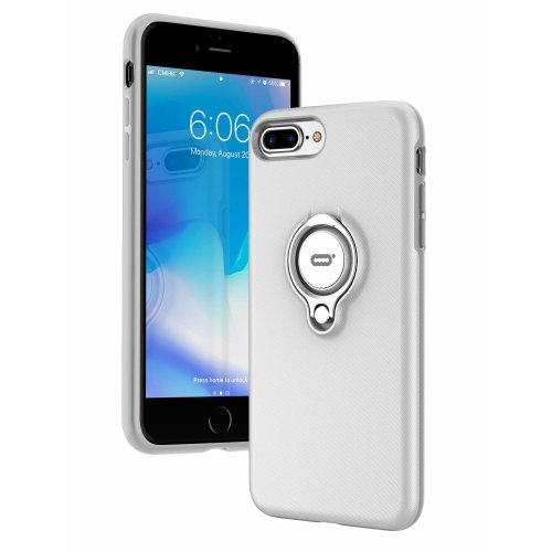 new concept c8c82 d69b8 iPhone 8 Plus Case, iPhone 7 Plus case with Ring Kickstand by ICONFLANG,  360 Degree Rotating Ring Grip Case for iPhone 8 Plus/ iPhone 7 Plus, Dual...