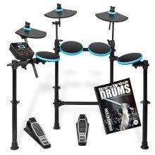 Alesis DM Lite Electronic 5 Piece Drum Kit With Free Backbone Tutorial Book & CD Worth £15.99