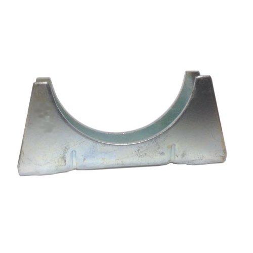Universal Exhaust pipe cradle 35 mm pipe - Zinc Plated Mild Steel