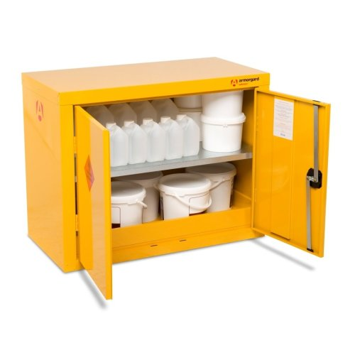 Armorgard SafeStor HFC1 Secure Chemical Storage Cabinet - 900 x 465 x 700mm