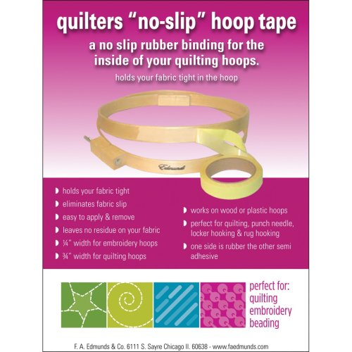"""Frank A. Edmunds Quilter's No-Slip Hoop Tape .75""""X3yd-"""