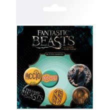 Fantastic Beasts Mix Badge Pack