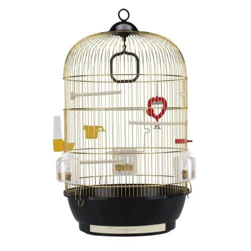 Ferplast Diva Brass Round Bird Cage
